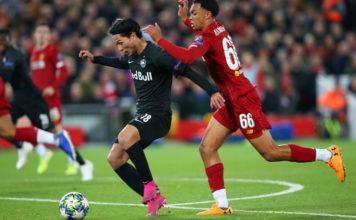 Liverpool FC v RB Salzburg: Group E - UEFA Champions League image