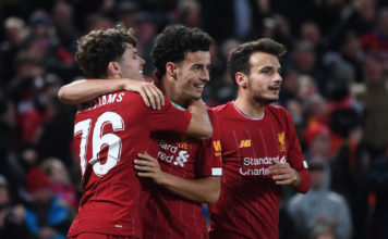 Liverpool FC v Arsenal FC - Carabao Cup Round of 16 image