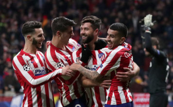 Atletico Madrid v Lokomotiv Moskva: Group D - UEFA Champions League image