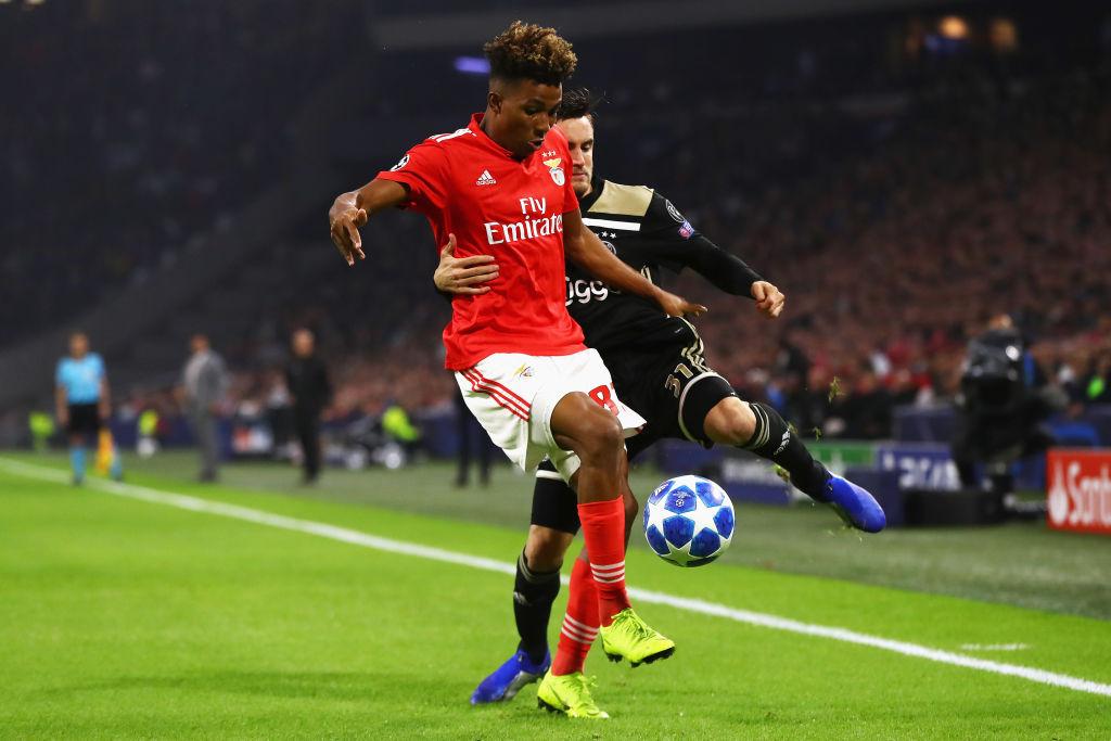 Gedson Fernandes, Benfica