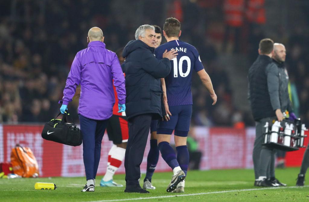 Harry Kane, José Mourinho