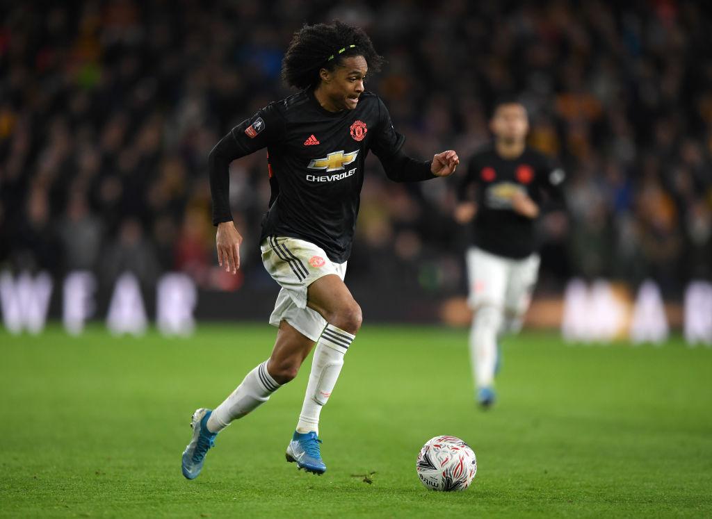 Tahith Chong, Manchester United
