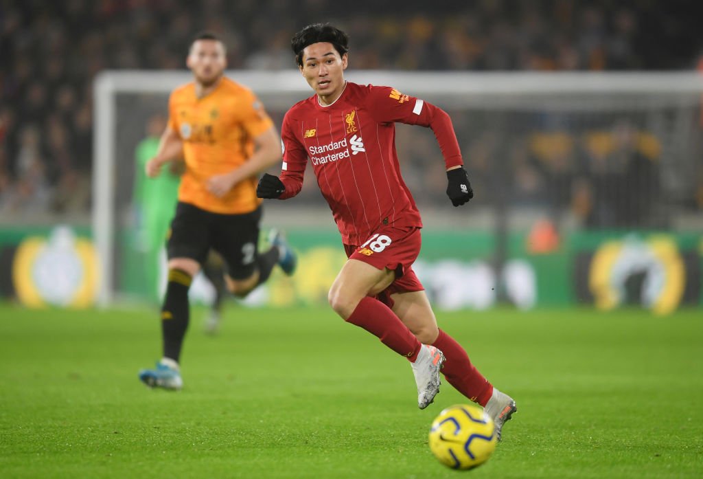 Takumi Minamino, Liverpool