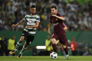 Sporting CP v FC Barcelona - UEFA Champions League