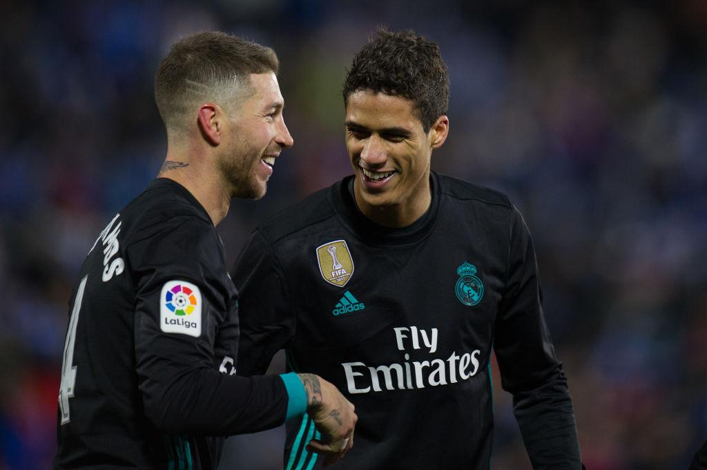 Sergio Ramos og Raphael Varane, Real Madrid
