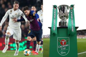 Lionel Messi, Sergio Ramos, Carabao Cup