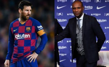 Lionel Messi and Eric Abidal image