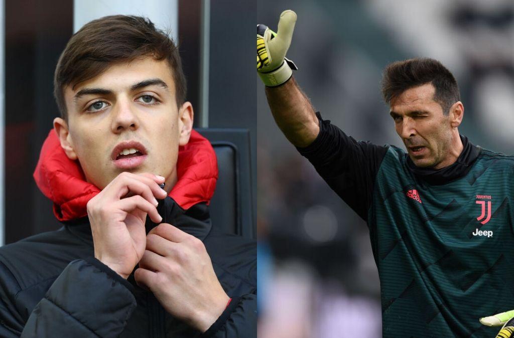 Gianluigi Buffon, Daniel Maldini