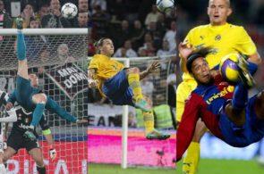 Zlatan, Ronaldo, Ronaldinho