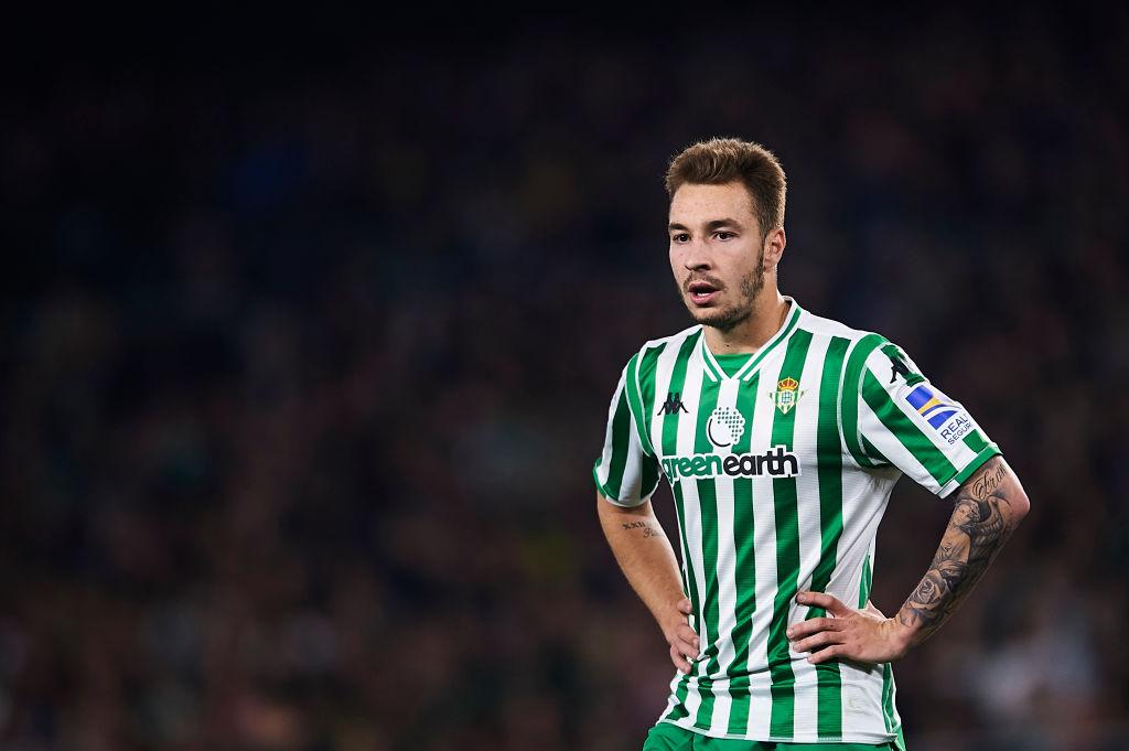 Loren Morón, Real Betis