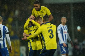 OB Odense vs Brondby IF - Danish 3F Superliga