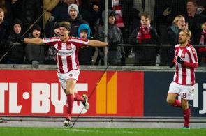AaB Aalborg and Brondby IF - Danish 3F Superliga