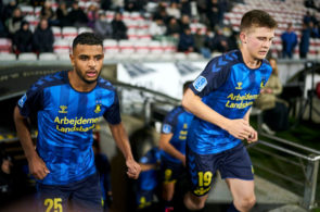 AaB Aalborg and Brondby IF - Danish 3F Superliga