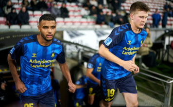 AaB Aalborg and Brondby IF - Danish 3F Superliga image