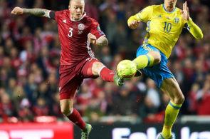 Zlatan Ibrahimovic, Simon Kjær