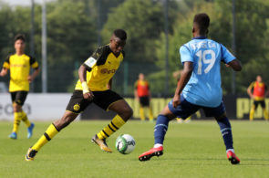 Borussia Dortmund U17 v Bayer Leverkusen U17 - B Juniors German Championship Semi Final Leg Two