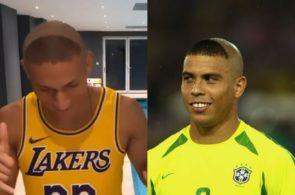Richarlison og Ronaldo