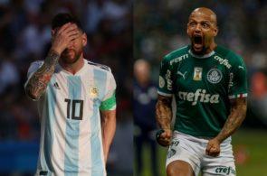 Felipe Melo, Lionel Messi