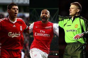 Gerrard, Henry og Schmeichel
