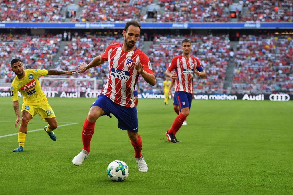 Juanfran, Atlético Madrid