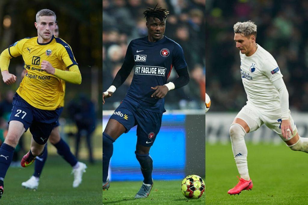 Mathias Haarup, Hobro, Sory Kaba, FC Midtjylland, Guillermo Varela, FC København