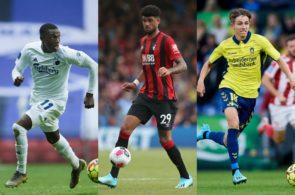 Mohamed Daramy, FC København, Philip Billing, Bournemouth, og Jesper Lindstrøm, Brøndby IF