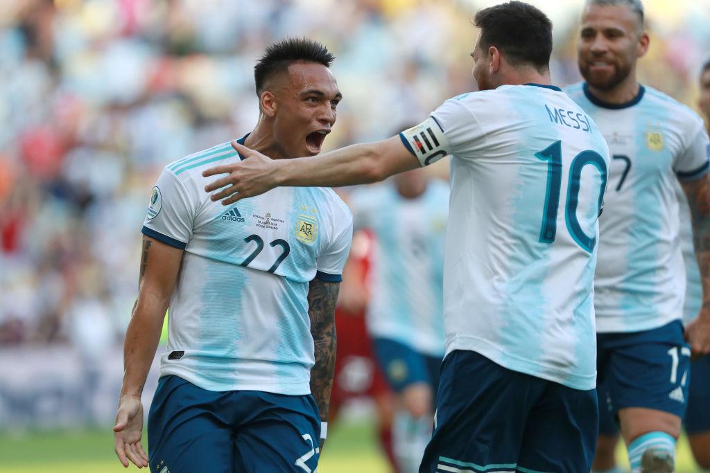 Lautaro, Messi