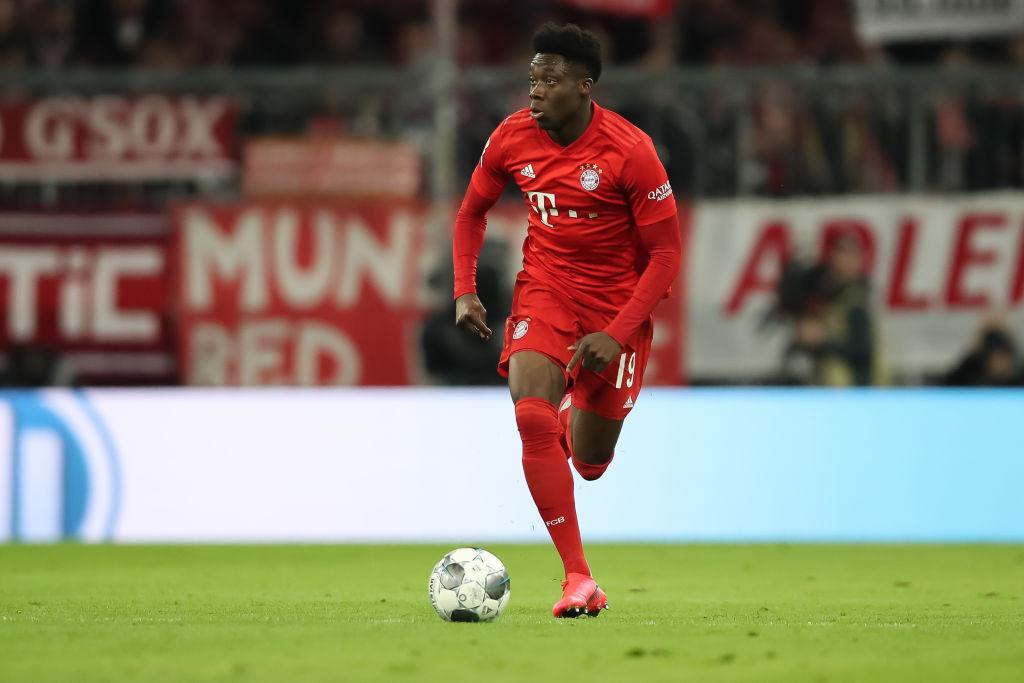 Alphonso Davies, Bayern München