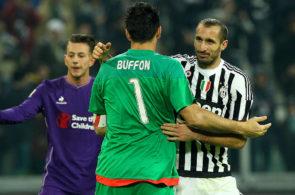 Gianluigi Buffon og Giorgio Chiellini, Juventus