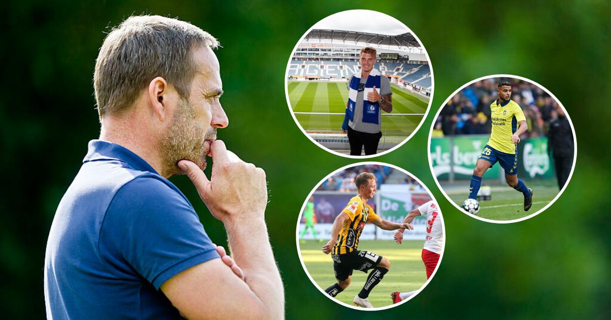Carsten Jensen Eric Smith Anis Ben Slimane Adam Andersson Brøndby IF