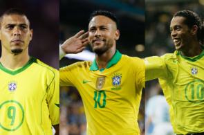Ronaldo Neymar Ronaldinho
