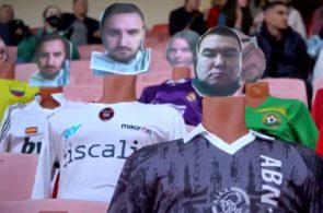 Dynamo Brest stiller dukker på stadion