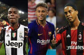 Paul Pogba, Neymar og Ronaldinho