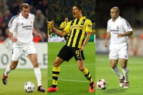 Zinedine Zidane, Robert Lewandowski og Roberto Carlos
