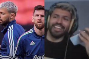 Aguero, Messi