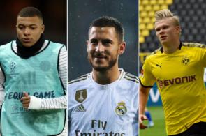 Håland, Mbappe, Hazard