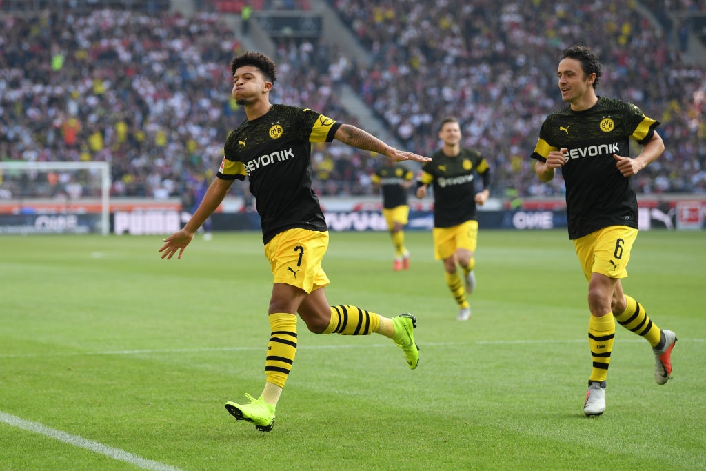 Jadon Sancho, Thomas Delaney