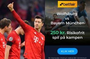 Bayern München- tilbud fra Betfair