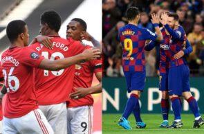 Manchester United og FC Barcelona
