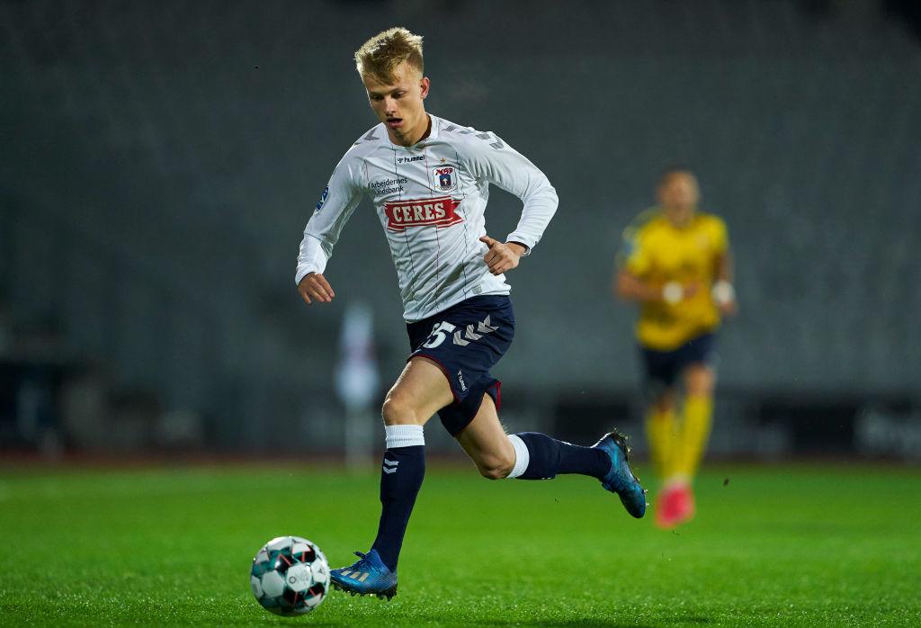 Kasper Lunding, AGF