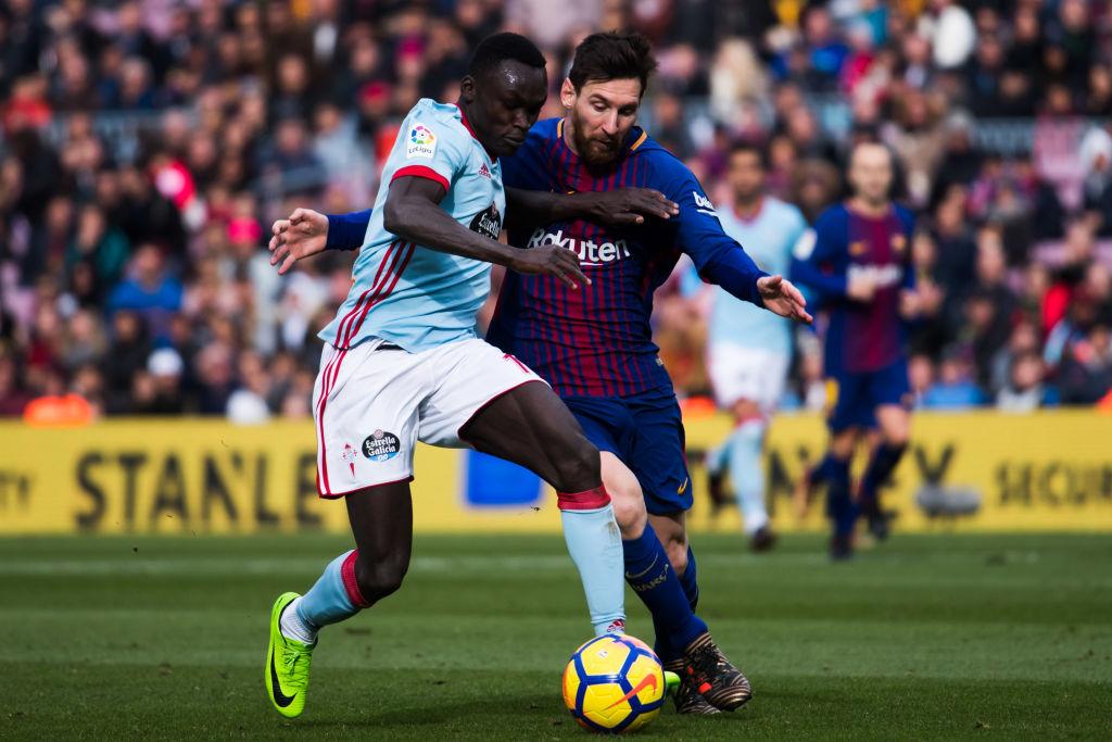 Pione Sisto, Lionel Messi