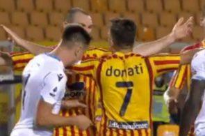 Patric fra Lazio bider modstander