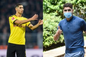 Achraf Hakimi Dortmund Inter