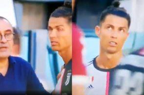 Cristiano Ronaldo Maurizio Sarri Juventus