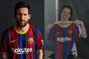 Ny Barcelona-trøje