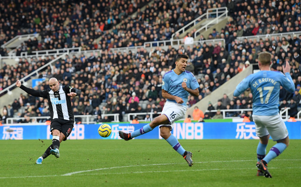 Newcastle, Manchester City