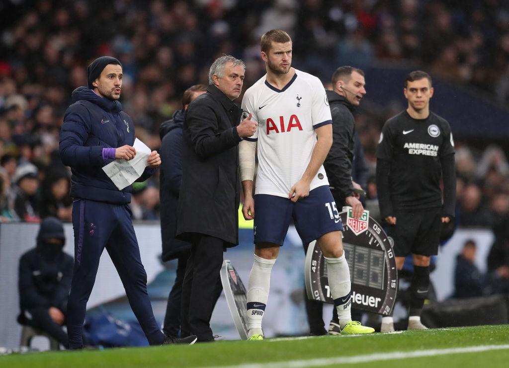 Eric Dier og José Mourinho, Tottenham
