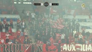 AaB-fans afbryder pokalfinalen