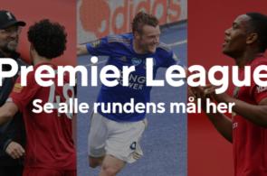 Alle mål fra 33. spillerunde i Premier League
