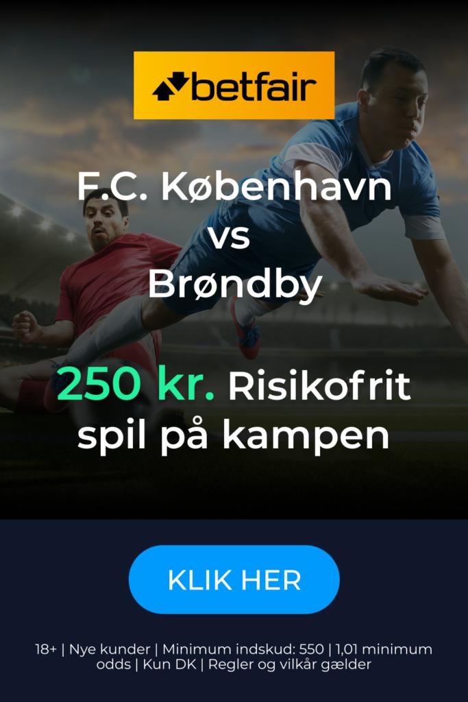 Gratis spil på FC København - Brøndby